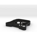 Peças plásticas de injeção abs de usinagem CNC personalizada