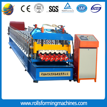 Colored+Glazed+Steel+Roof+Tile+Roll+Forming+Machine