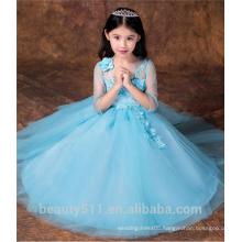 dress model 10 year old girl flower girl dress scoop neckline sleeveless baby dresses ED757
