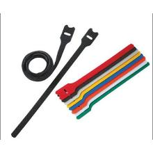 Colored Custom Hook and Loop Cable Ties