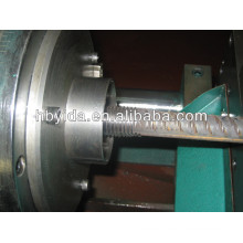 rebar coupler parallel threading machine