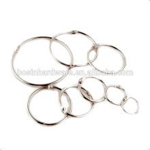Fashion High Quality Metal Loose Leaf Binder Rings