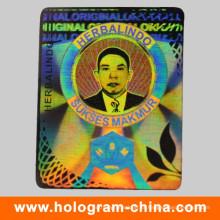 Etiqueta Anti-Fake do holograma do laser da segurança 3D