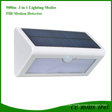 36 LED Rechargeable Waterproof Solar Powered Motion Sensor Light