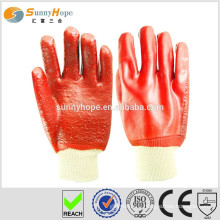 Sunnyhope PVC towel line industrial safety gloves