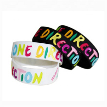 New Debossed Silicone Wrist Bands,Personalized Scented Silicone Bracelet,Thin Rubber Silicone Wristbands