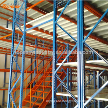 Multi-level Warehouse Storage Steel Mezzanine Floor Rack For Industrial Use