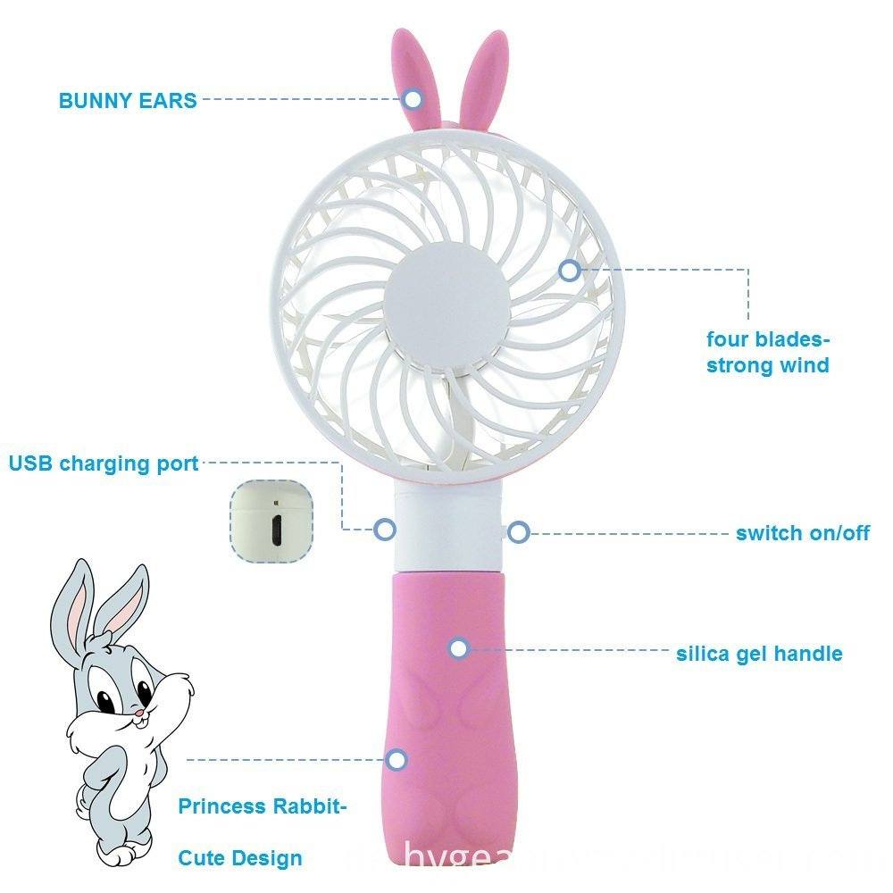 rabbit fan