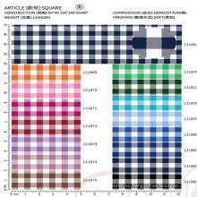tela de algodón para el proveedor chino de la camisa de vestir de los hombres