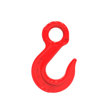 high strength forged alloy steel g80 eye sling hook with latch EYE AND HOOK