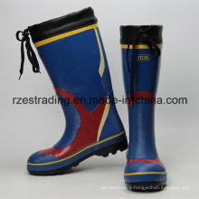 100% Rubber Multi-Fuction Working Safety Rain Boots