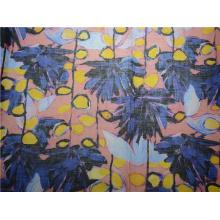 Tela tejida de algodón de Ramie para la ropa (DSC-4164)