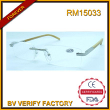 RM15033 New Design Frameless Reading Glasses