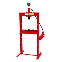 Hydraulic Shop Press with Gauge