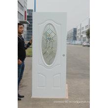Fangda American Style - Puerta exterior de vidrio de acero