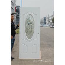 Fangda American Style Steel Glass Exterior Door