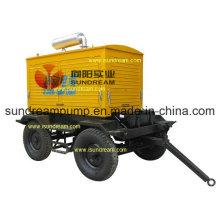 Reboque montado bomba de concreto ISO9001