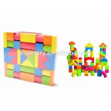 Kids safe material EVA funny soft plastic building blocks with EN71