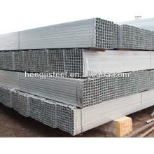 Sección hueca cuadrada de acero galvanizado