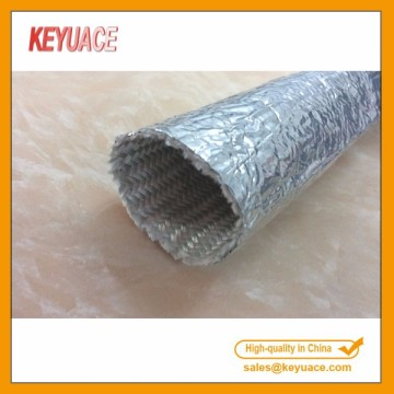 Aluminium Coated Fiberglass Heat Reflective Sleeving
