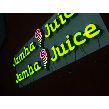 LED Channel Letter Sign till salu