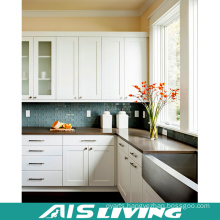 Classic Style Sharker PVC Kitchen Cabinets Furniture (AIS-K033)