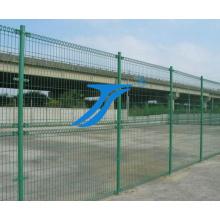 Panneau de clôture temporaire à barrière galvanisée