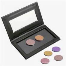 Caja negra para Eyeshadow que empaqueta con la ventana clara