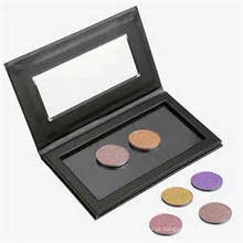 Black Box For Eyeshadow Embalagem com Clear Window