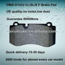 D1223 OE QUALITY plaquette de frein à disque basse en métal pour BENZ CL550 / S550 / SL550