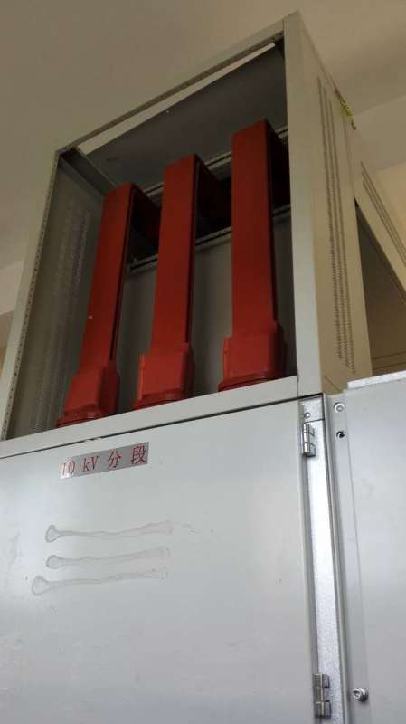High voltage copper busbar