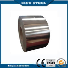 Food Can 2.8/2.8 Tin Coating T5 Temper Tinplate Strip