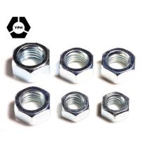 Noix métriques en acier inoxydable DIN936