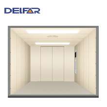 Large and Stable Electric Freight Elevator for Construction Use