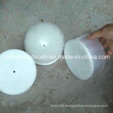 120mm White Nylon Mold Cleaning Brush (YY-427)