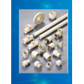 CPVC resin and compound with powder and granule for pipes fittings