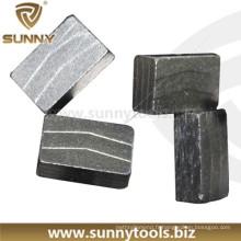 Segments de diamant pour la coupe de granit