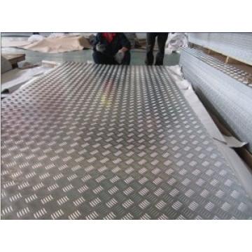 Plaque de vernis en aluminium antidérapant 1050 1060 3003 5052