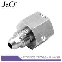 Adaptador de tubos de aço inoxidável forjado de aço inoxidável de alto desempenho