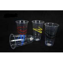 500 мл одноразовые пластиковый стаканчик ленты