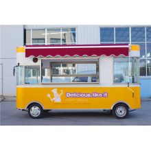 2016 New Electric Mobile Fast Food Truck with 4 wheels for sale
