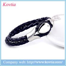 Lederarmband, handgefertigtes Armband aus Leder, Herrenarmband