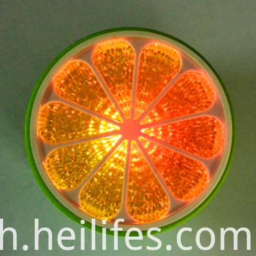 Swimming Pool Water Toys LED Orange