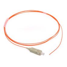 Multi Modo mm Lszh / PVC 0.9mm Sc Fibra Óptica Pigtail