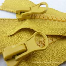 5 # Auto Lock Open-End Resina Zipper Metal Slider