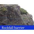 Wire Rope Net Rockfall Barriers