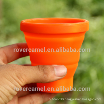 FMP-319 200ml retractable wash cup Outdoor folding cup Portable water cup