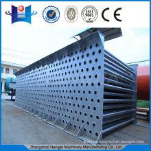 Intercambiador de calor de tubo de acero sin contaminar el material seco