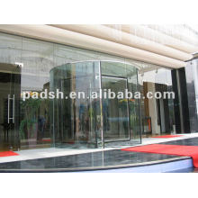 stainless steel glass revolving doors