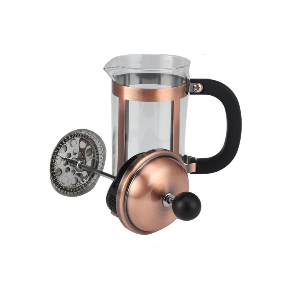 glass coffee maker with plastic handle